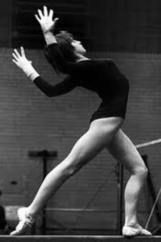 Nadia Comaneci Given Seven Perfect Tens
