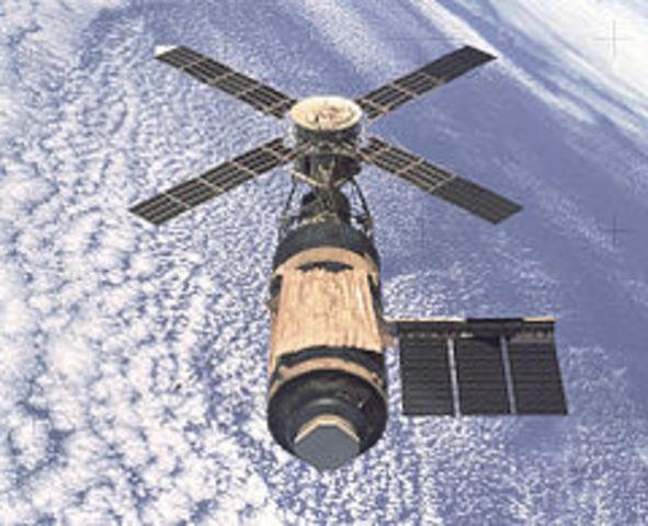 Skylab returns to earth