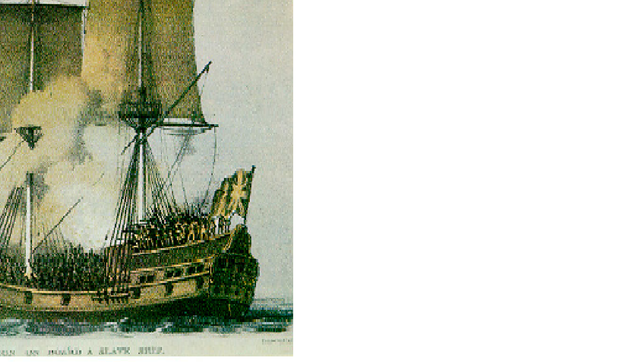 Mr.Meeker dies on a British slave ship because he had Cholera