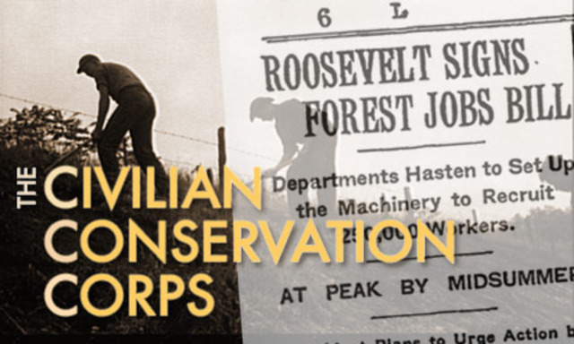 Congress passes the Reforestation Relief Act, establishing the Civilian Conservation Corps (CCC)