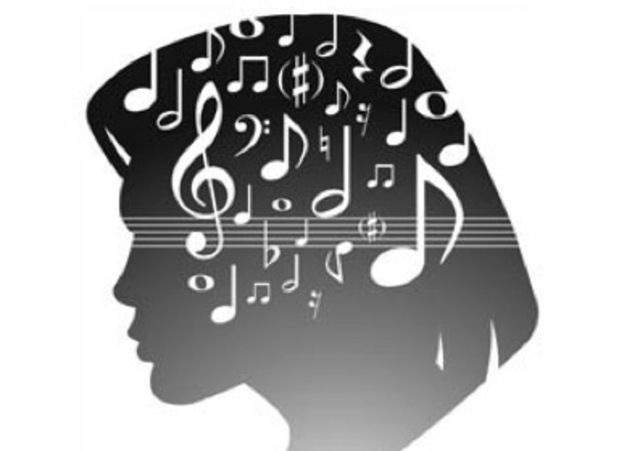 Differences between temporal lobes on music recognition