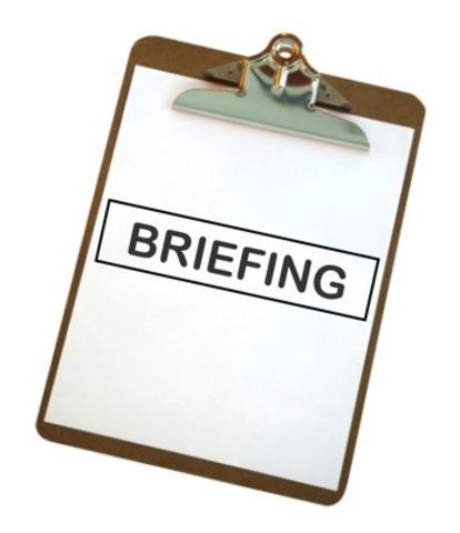 Recepción Briefing