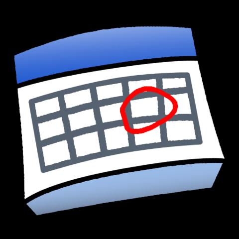 Ajustes y calendario