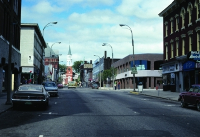 Church St. with Vehicle Traffic