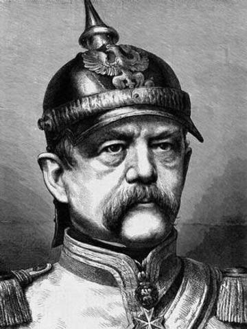 Otto Von Bismarck Unites German States