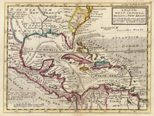 Sebastian de Ocampo Mapped Cuba