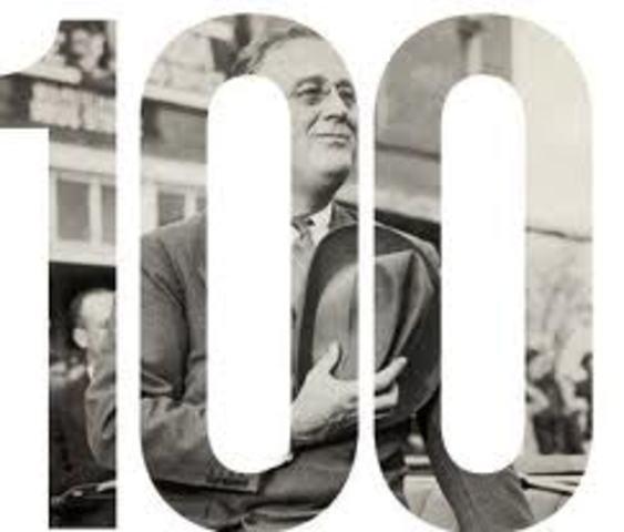 End of Roosevelt's 1st Hundred Days