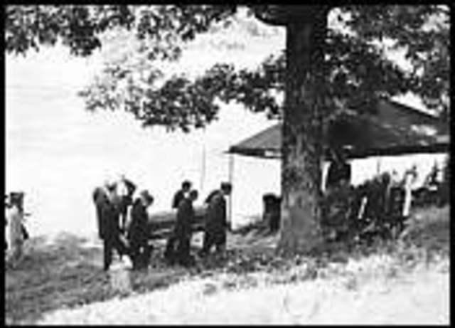 William Faulkner's burial