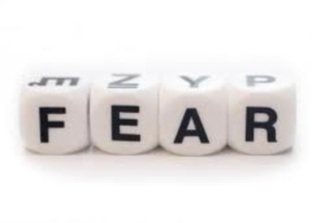 what percent of people still live in fear today