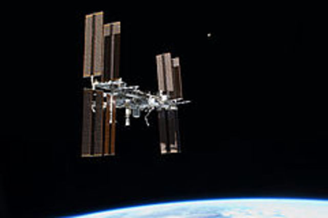 ISS construction starts