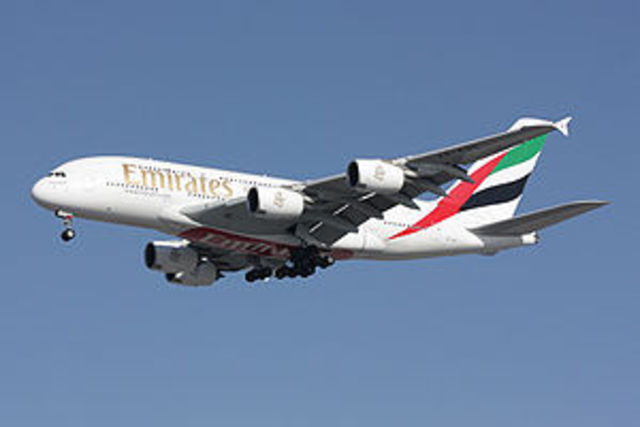 Airbus A380 takes its first flight