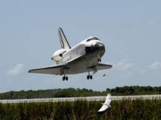 Last Space shuttle mission lands