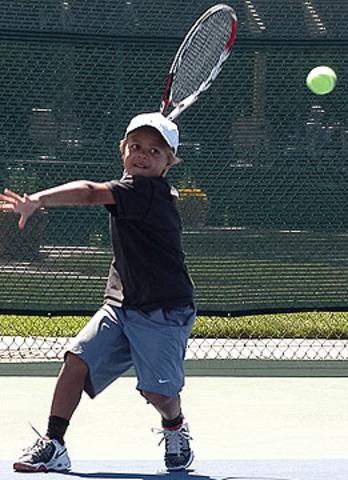 Empiezo a jugar al tenis