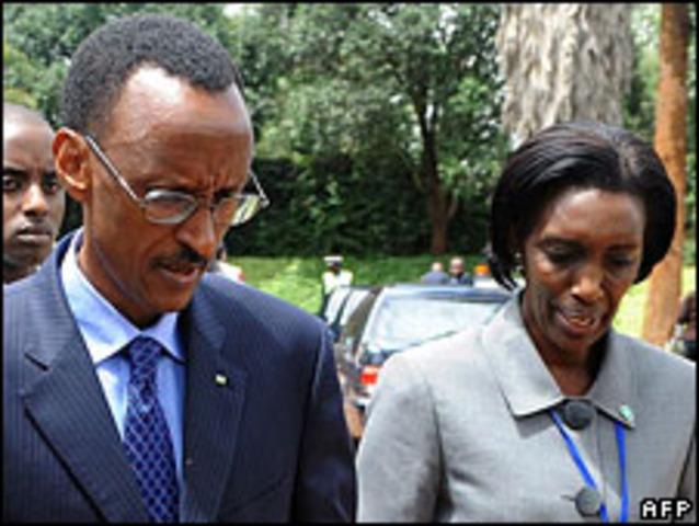 The death of the Rwandan President