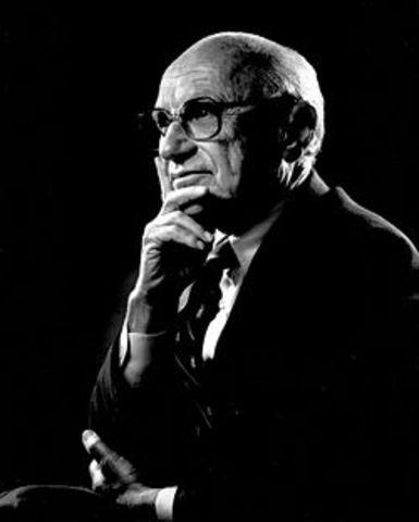 Ideas de Milton Friedman perteneciente a la escuela de ChicagoDefiende el libre mercado.