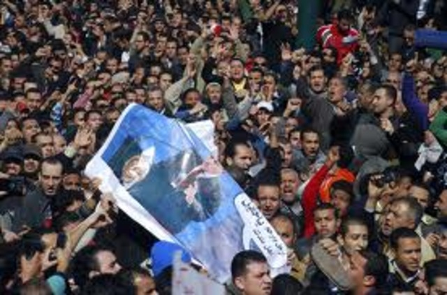 Anti- Government Broke out in Egypt