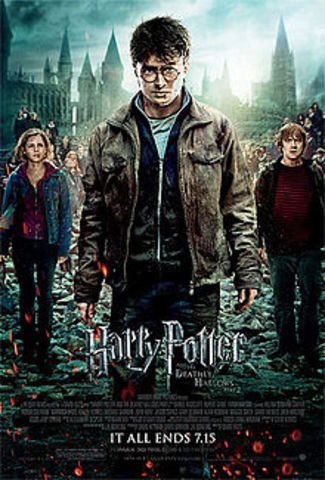 Harry Potter and the Deathly Hallows Part 2 is released