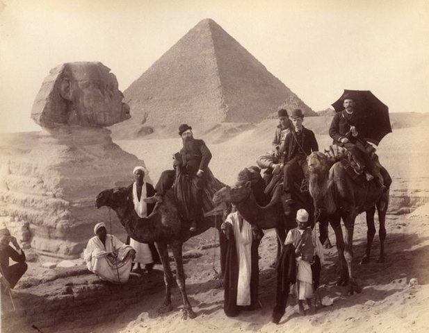 MUESTRAS DE DESARROLLO EN EGIPTO