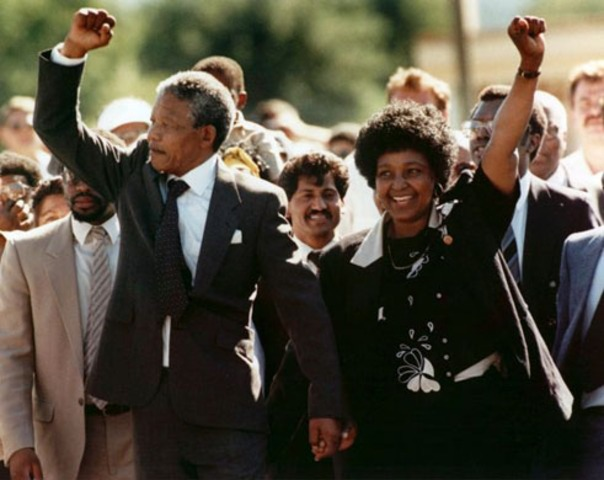 Mandela is released