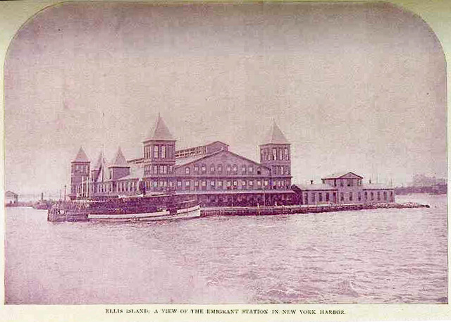 Ellis Island Opened for Immigratiion