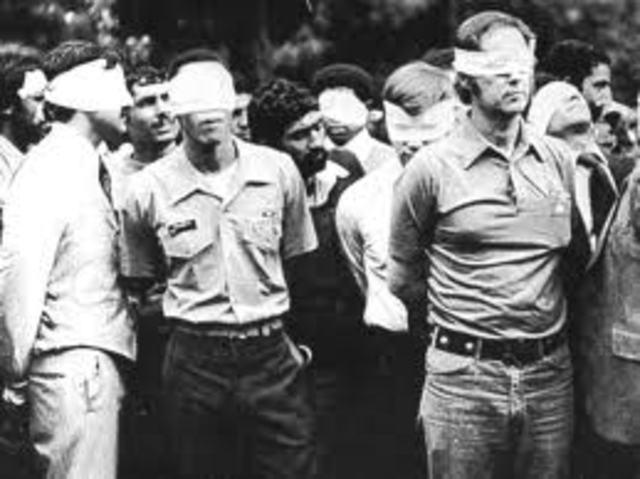 Iran Takes American Hostages in Tehran