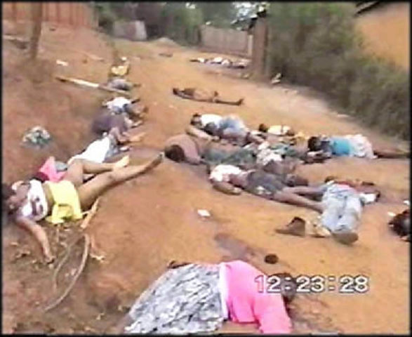 Genocide in Rwanda ends