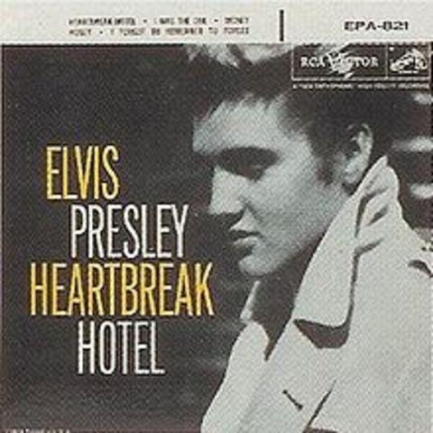 Release of Heartbreak Hotel