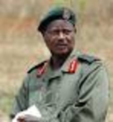 Yoweri Museveni Overthrows President Milton Obote