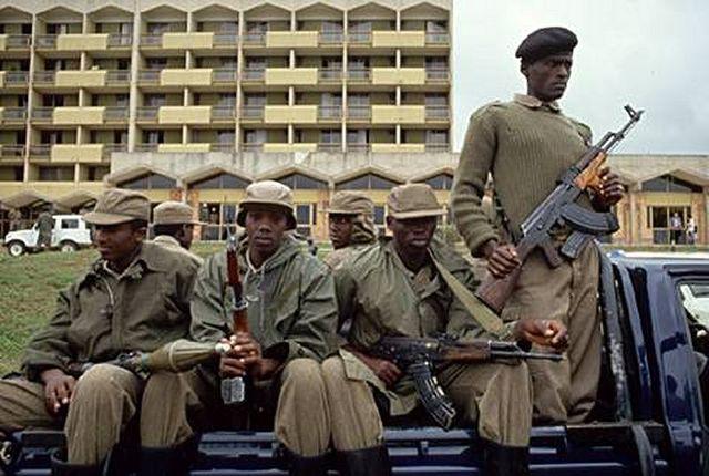 Rwandan Armed Forces set up roadblocks