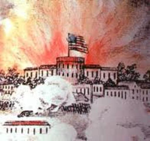 Burning of Washington/ Star spangled Banner