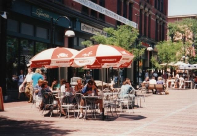 Outdoor Restaurant Seating on Church Street