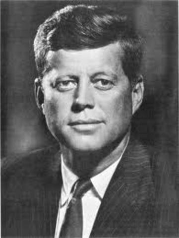 President John F. Kennedy Elected President