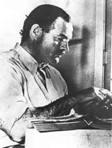 Hemingway commits suicide
