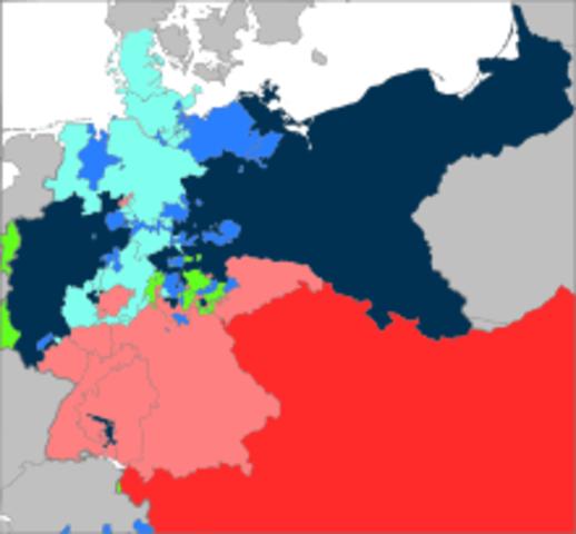 The Austro-Prussian War or Seven Weeks' War