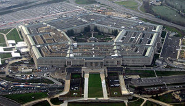 During the Pentagon...
