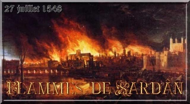 Les flammes de Sardân