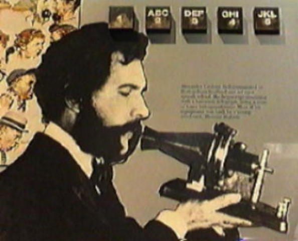 Telephone is introduced by Alexander Graham Bell