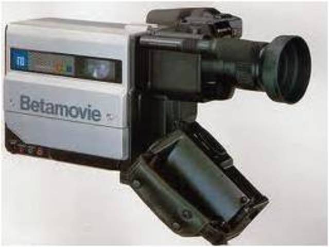 Sony First Consumer Camcorder