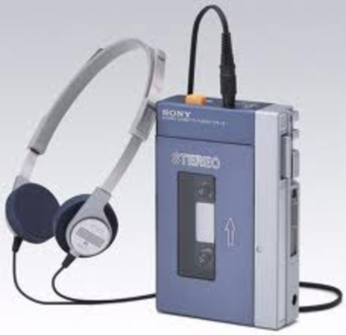 Lighter headphones come out as a result to the invention of the Walkman
