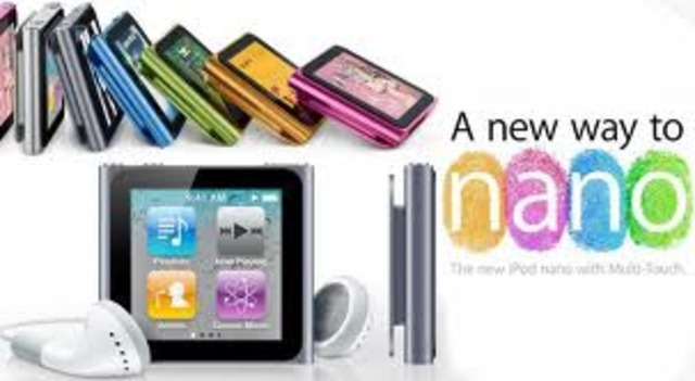 IPod Nano - New Aluminum Design