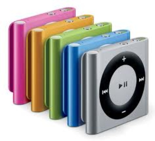 IPod Shuffle becomes Avaliable In Five Colors