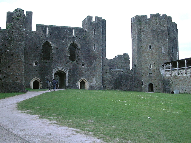 Caerphilly finished building