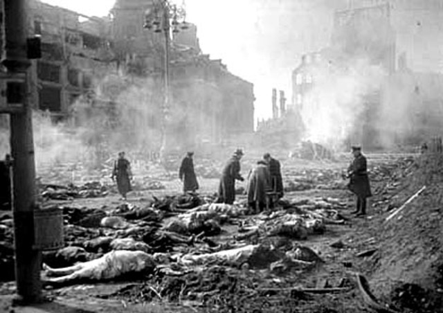 Some more bombing of Dresden