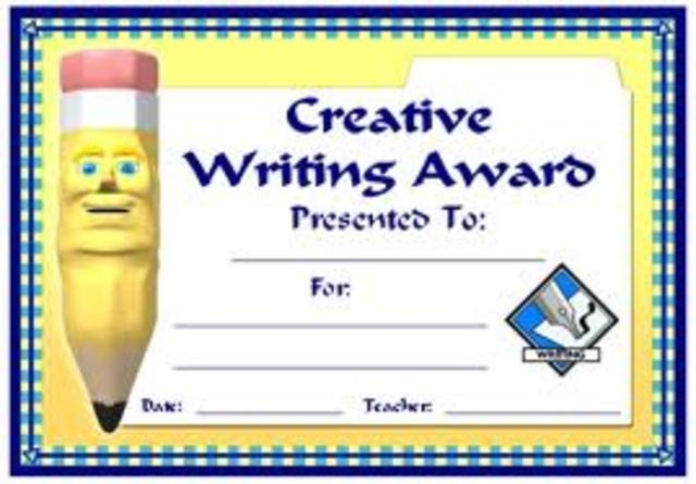 Bezos wins creatve writing certificate and becomes english major