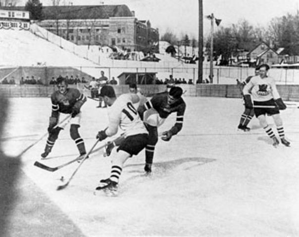 Winnipeg Hockey Club Wins Olympic Gold