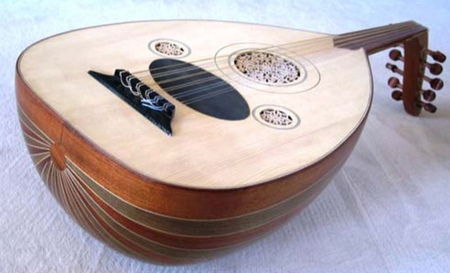 Cithara was Modified into the Oud