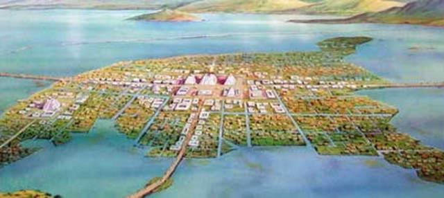 Aztec Settlement