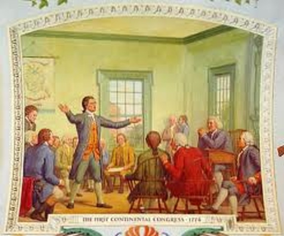 The 1st Continental Congress