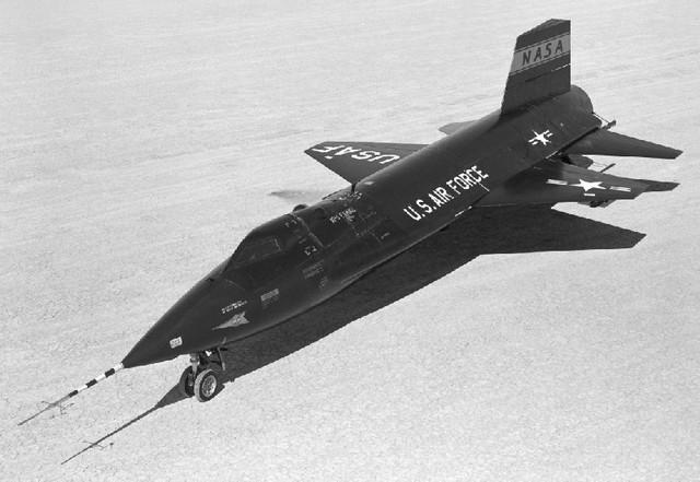 Der schnellste, bemannte Flug der Welt (X-15)