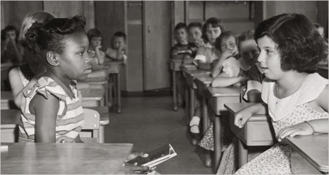 Supreme Court outlaws school segregation